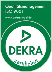 Qualitätsmanagement Zertifikat ISO 9001:2015